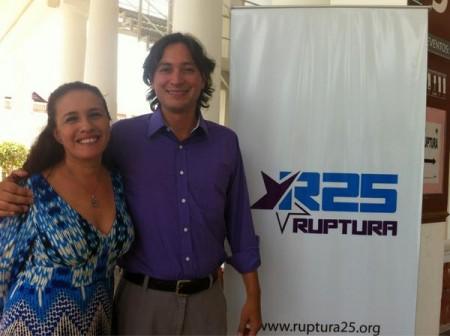 Ruptura 25 designa a sus candidatos para las elecciones del 2013