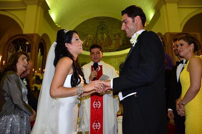 Debbie y Kyle: una boda de cuento de hadas