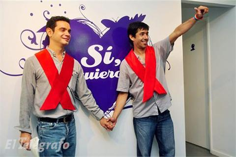 Celebrarán primera boda gay de Latinoamérica