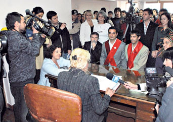 La Iglesia Católica argentina rechazó boda homosexual