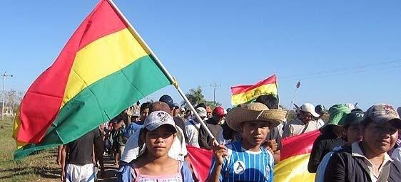 Indígenas de la Amazonía marchan con reclamos a Evo Morales en Bolivia