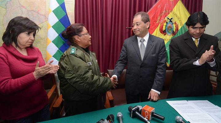 Gobierno boliviano resuelve motín policial
