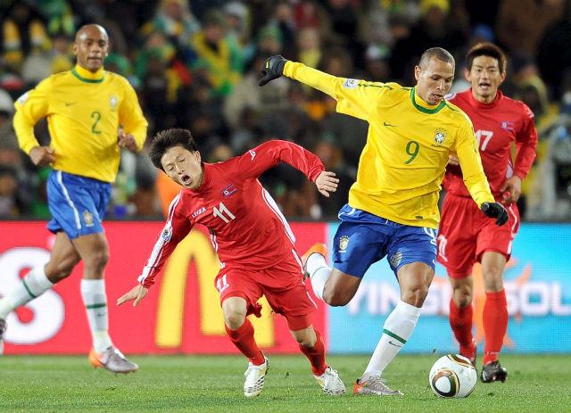 Brasil 2-0 Corea del Norte (en juego)