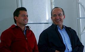 Calderón y Peña Nieto se reúnen tras las elecciones