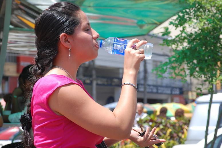 Urbe registró temperaturas superiores a los 33 grados