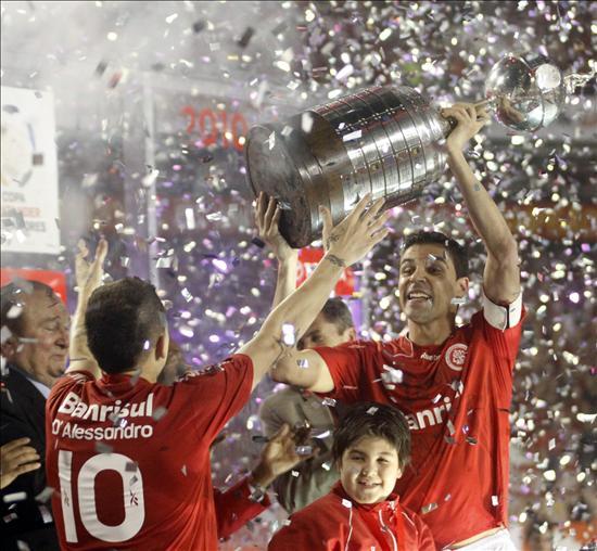 Internacional es el campeón de la Libertadores 2010