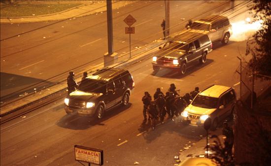 Vehiculo que rescató a Correa tiene 17 impactos de bala