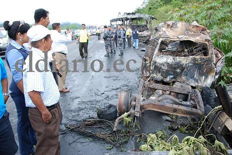 Ya son seis los muertos en accidente en vía Jipijapa-Paján (con videos)