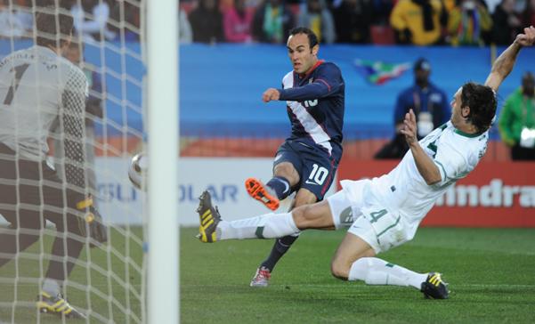 Estados Unidos salvó un empate ante Eslovenia