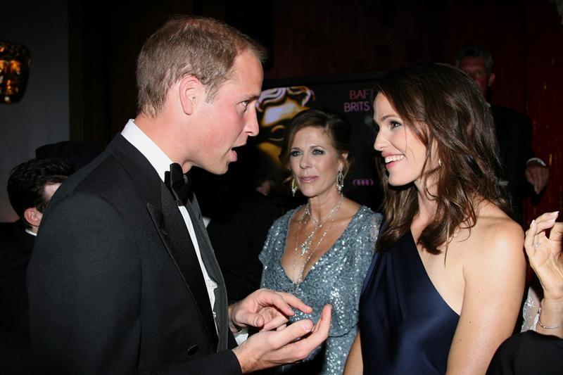 Personalidades comparten mesa con los duques de Cambridge