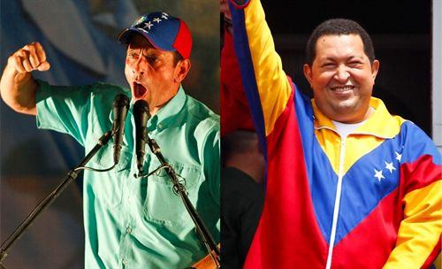 Encuesta da 18 puntos de ventaja a Chávez sobre Capriles