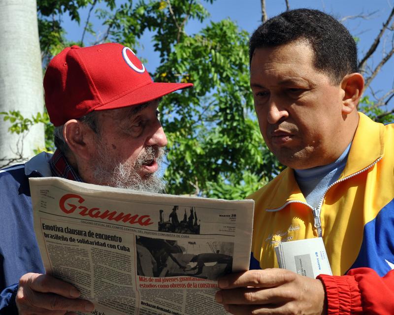 Hugo Chávez admite que fue operado de cáncer