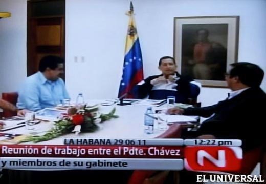 Gobierno muestra más imágenes de Hugo Chávez