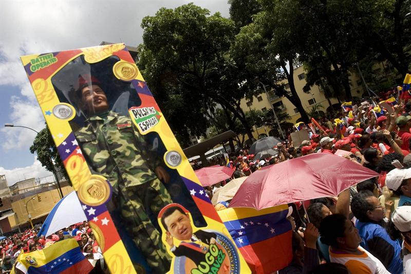 Chavezmanía en Caracas