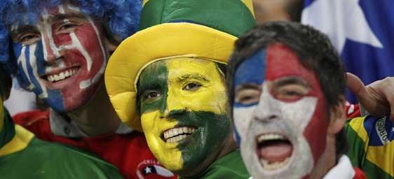 Brasil 2-0 Chile (en juego)