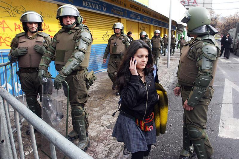 139 detenidos por toma de centros educativos