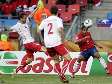 Chile gana y y sueña con los octavos