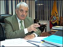 Chiriboga es el nuevo Fiscal General de la Nación