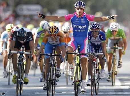 Petacchi gana la 4ª etapa del Tour de Francia