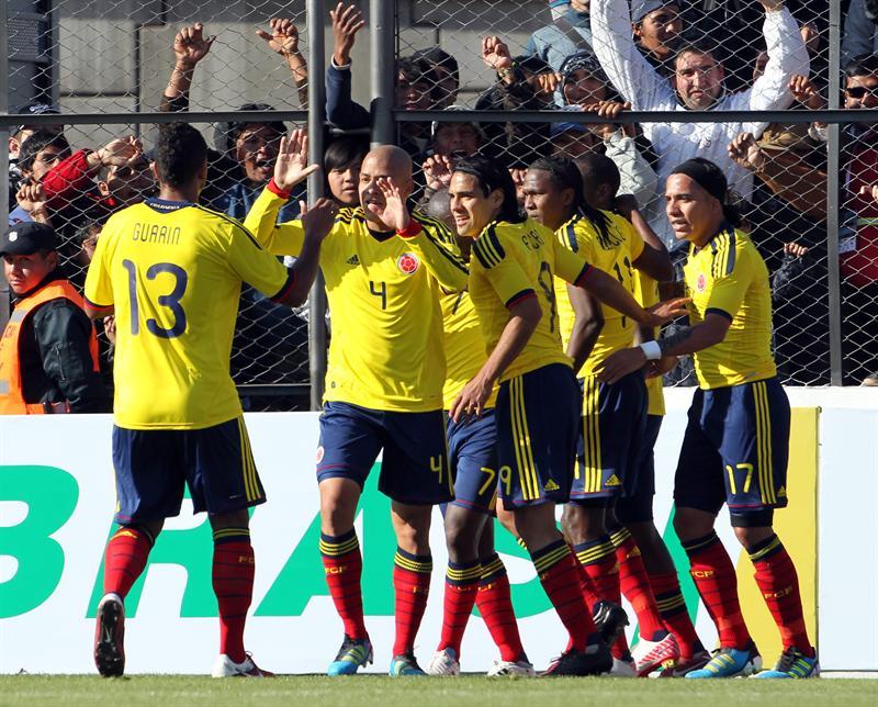 1-0: Ramos da el liderato a Colombia ante Costa Rica
