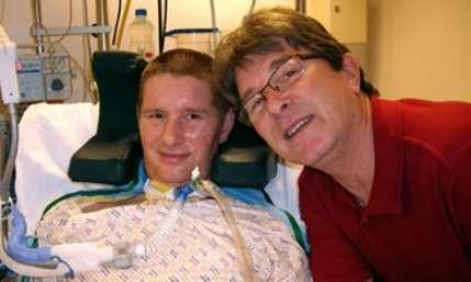 Un hombre en estado de coma, parpadea y salva la vida cuando iban a desconectarlo