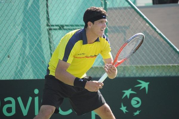 Ecuador y Chile igualan 1-1 en serie de la Copa Davis