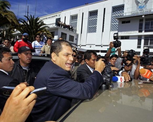 Correa se ha ganado la indiferencia fuera de su país