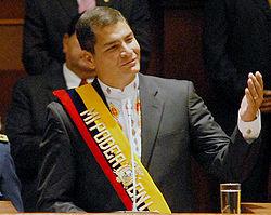 Futuro politico de Rafael Correa se decide en octubre