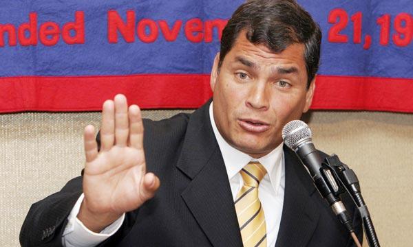 Inteligencia colombiana habría intervenido teléfonos de Correa, según prensa
