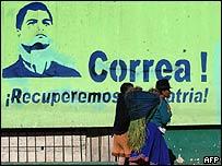 Correa habla de una eventual reelección