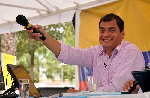 Correa: oposición pretendió 'desestabilizar' al país