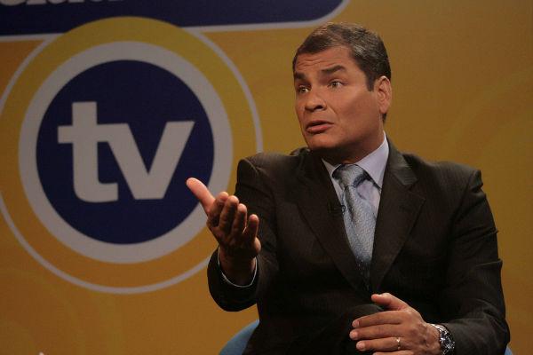 Correa dice tener pruebas que demuestran conspiración de oposición