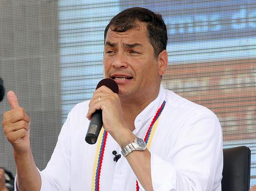 Correa anuncia llegada de nuevos aviones Cheetah para reforzar la seguridad