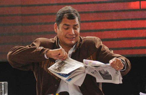 SIP rechaza el retiro de publicidad oficial de medios privados