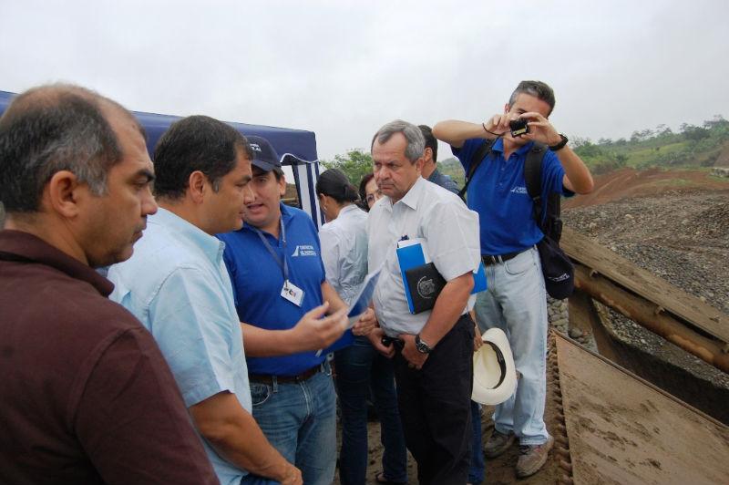 Presidente Correa visita Pedernales