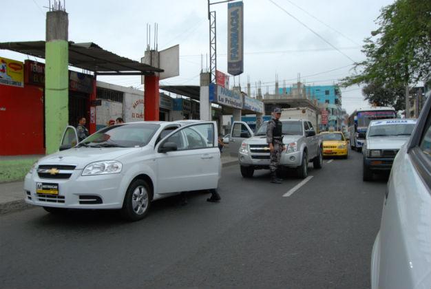 Siguen los operativos conjuntos en la ciudad de Manta