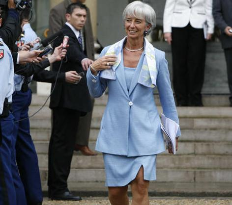 Christine Lagarde, nueva directora gerente del FMI