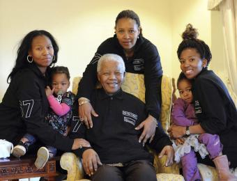 12 millones de niños cantaron a Mandela por su cumpleaños