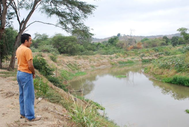 Río será enrocado por construcción de nuevo puente