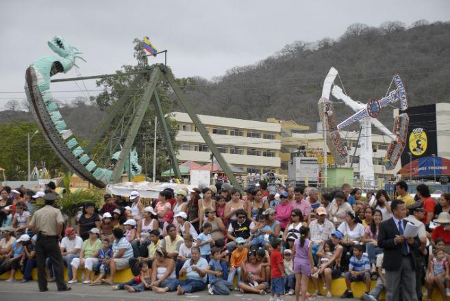 En Portoviejo ya se siente el ambiente de fiesta