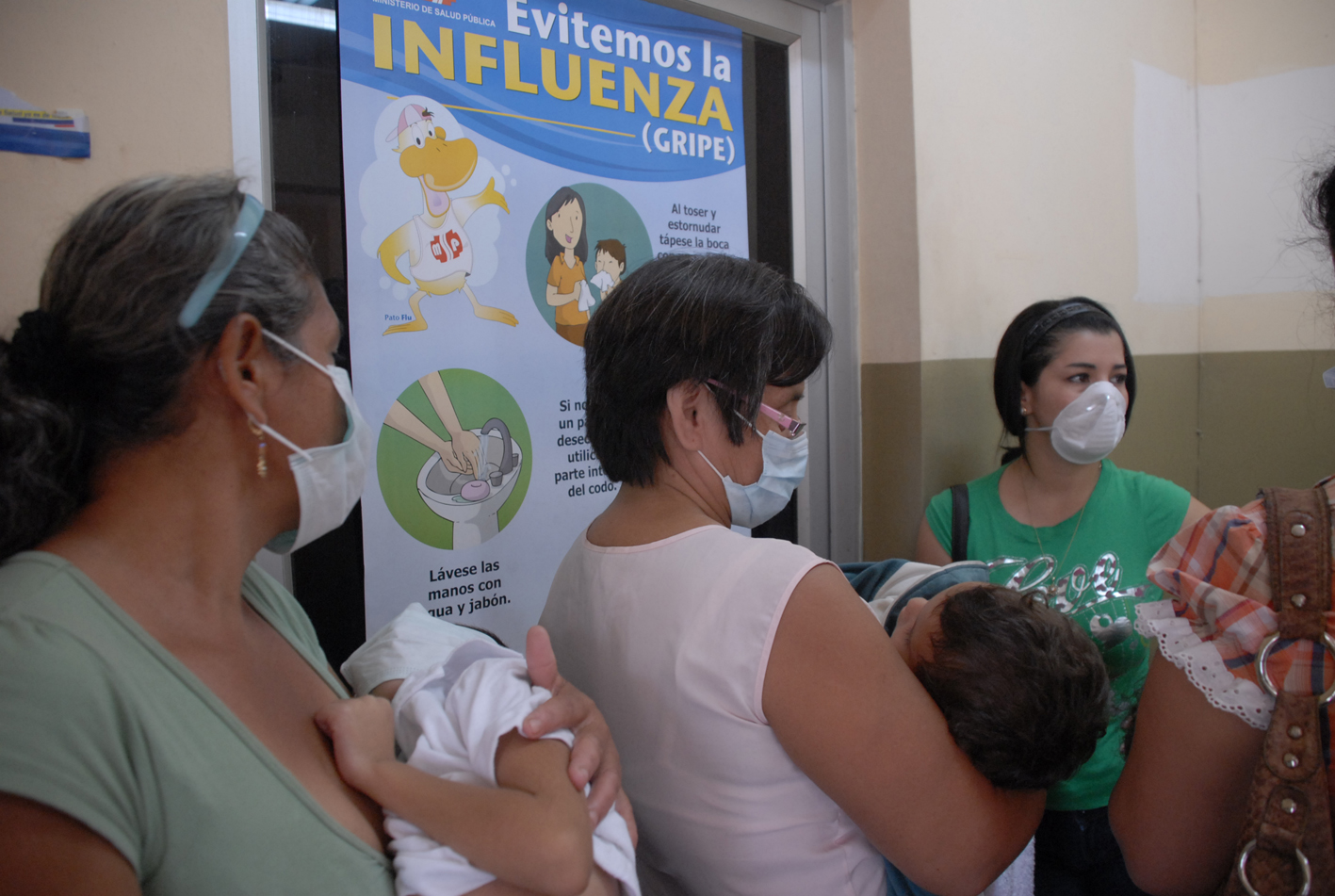 La pandemia de gripe A está en estado latente
