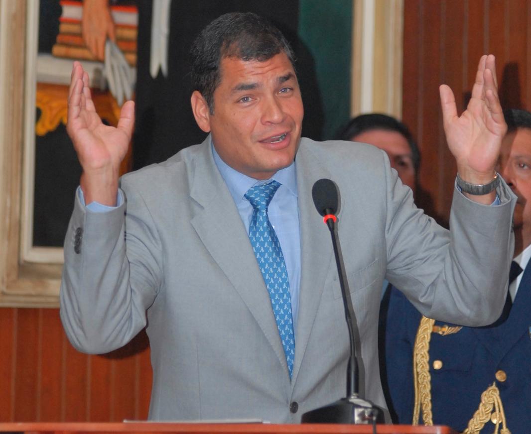 Rafael Correa está en el lugar 14 entre 20 presidentes más populares