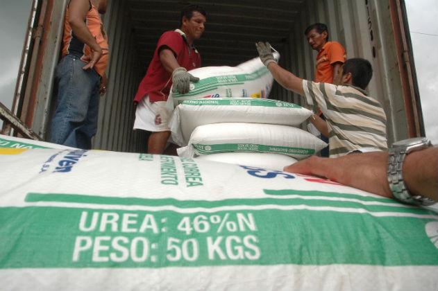 Ecuador importará 250.000 toneladas urea de Venezuela, Ucrania, Rusia e Irán