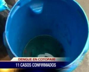 11 casos de dengue clásico confirmados en Cotopaxi