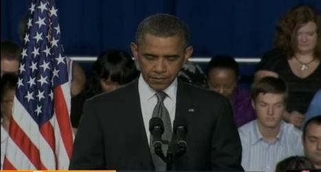 Obama pide un minuto de silencio por las víctimas de matanza