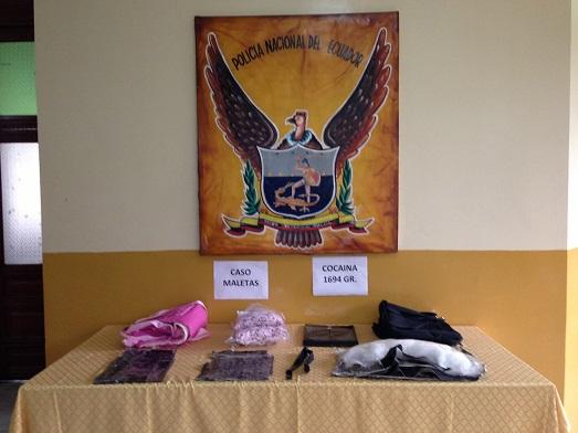 Policía de Orellana incauta encomienda con droga