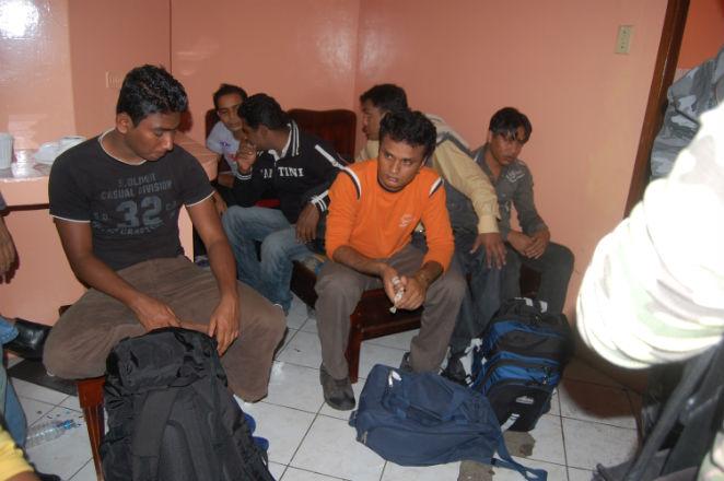 17 migrantes fueron detenidos en Manta