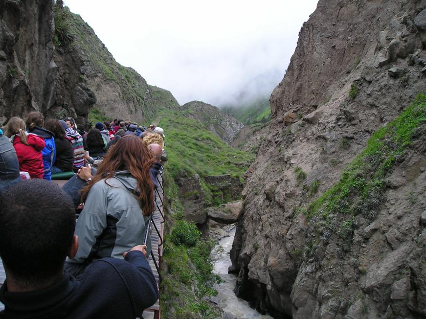 Turismo extranjero en Ecuador subió un 9,38% en el primer semestre de 2010