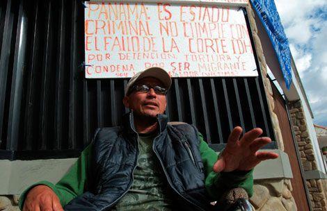 Ecuatoriano irá hasta la muerte en huelga