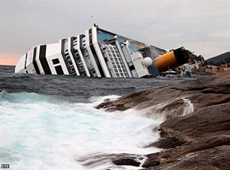 Dos ecuatorianos en crucero accidentado en Italia están bien